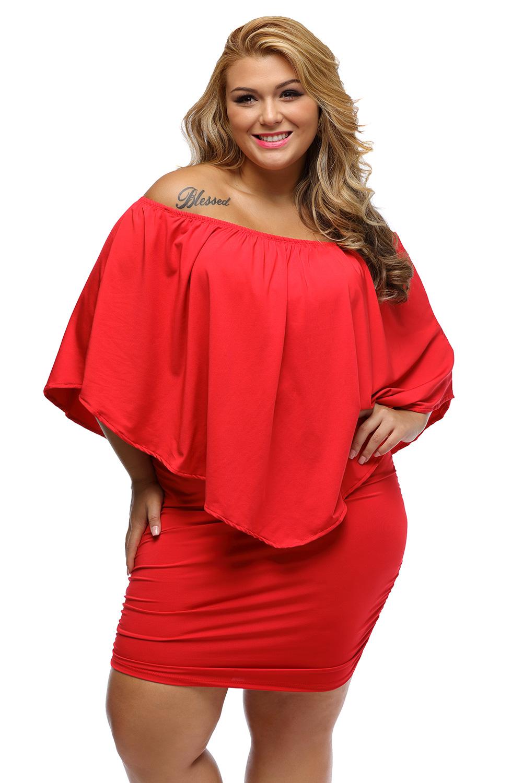 Rochie XXL rosie Anita 3XL