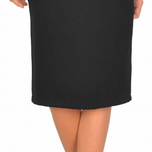 Fusta neagra office midi