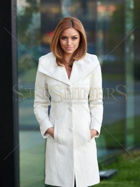 Palton LaDonna Elegant Look Nude