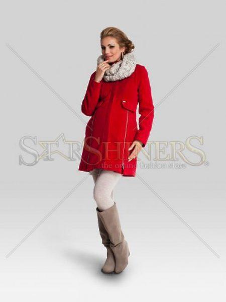 Palton Pentru Gravide Classy Red