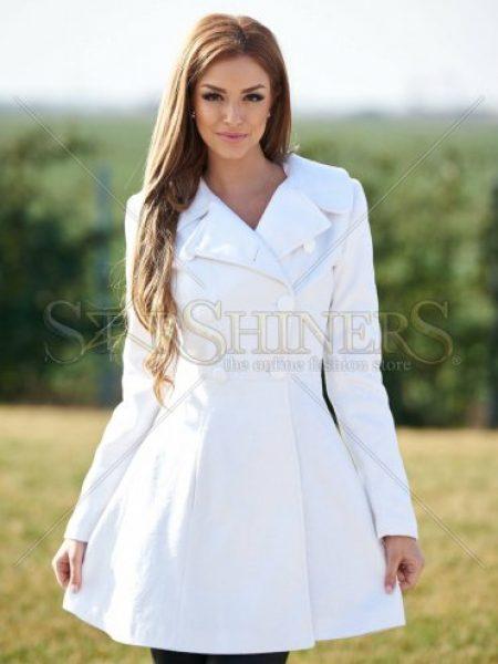 Palton LaDonna Be Elegant White