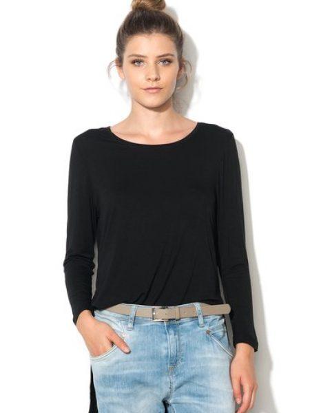 Bluza neagra asimetrica Jewel