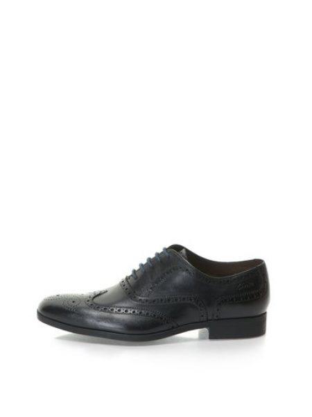 Pantofi brogue negri de piele Banfield Limit