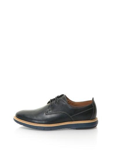 Pantofi negri de piele Flexton