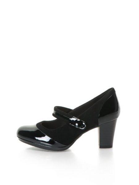 Pantofi Mary Jane negri Brynn Mare