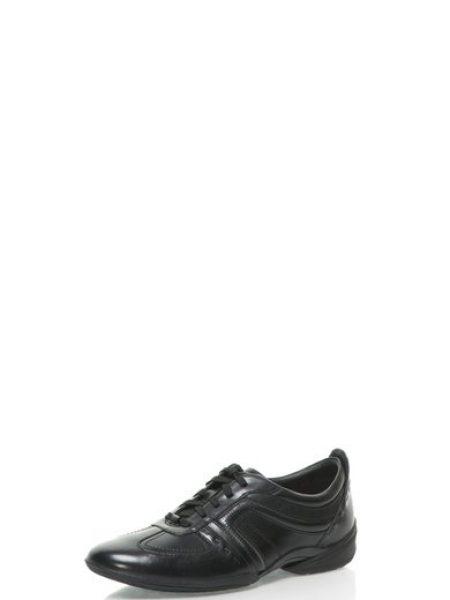 Pantofi sport negri din piele Flux Spring