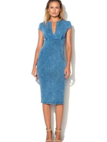 Rochie cambrata albastra