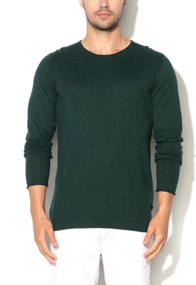 Pulover verde englez din jerseu Xenial