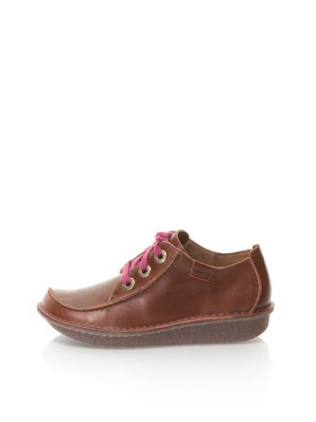 Pantofi maro de piele Funny Dream
