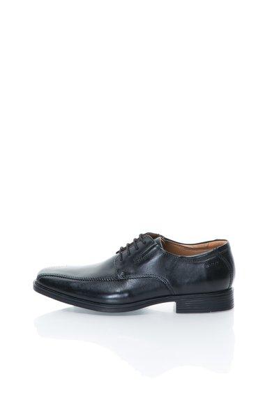 Pantofi negri din piele Tilden Walk