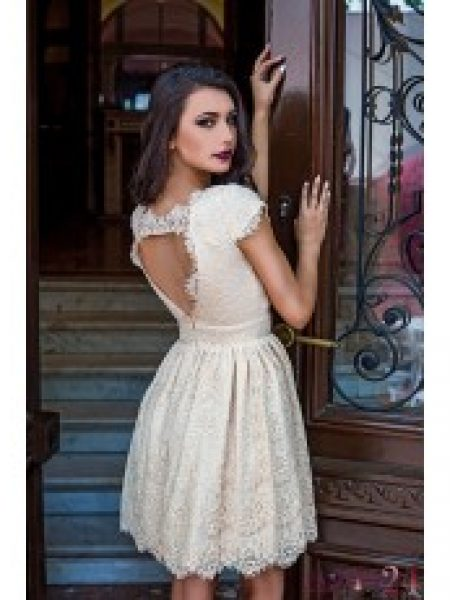 Rochie Eleganta Cream Lovely