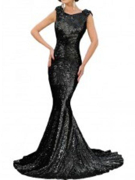 Rochie Eleganta Black Sequin
