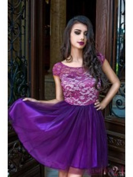Rochie Eleganta Purple Evening