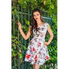 Rochie Eleganta Red Lilies