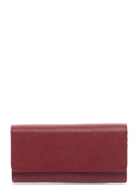 Portofel rosu inchis cu exterior texturat