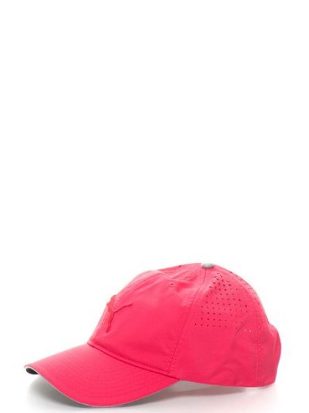 Sapca roz cu perforatii si inchidere ajustabila