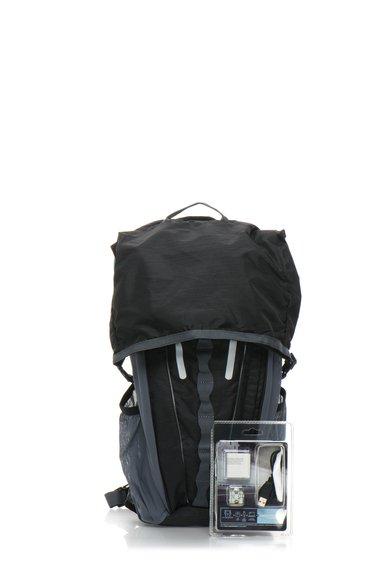 Rucsac cu LED negru cu gri Nightcat - 16L