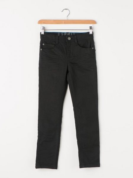 Jeansi slim fit gri antracit