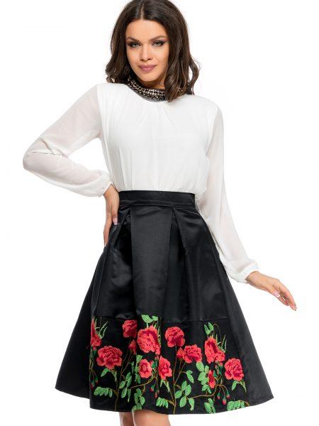 Fusta Roses Neagra