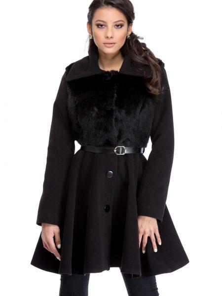 Palton Royal Negru