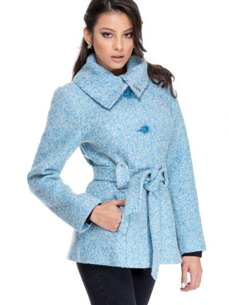 Palton Lizette Bleu