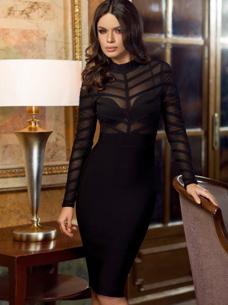 Rochie Glamour Neagra