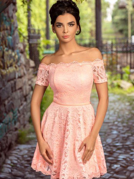 Rochie Selena Roz