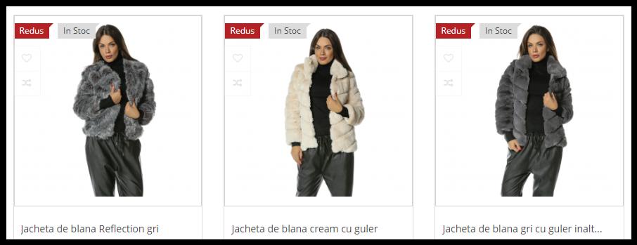 Haine si veste blana ecologica