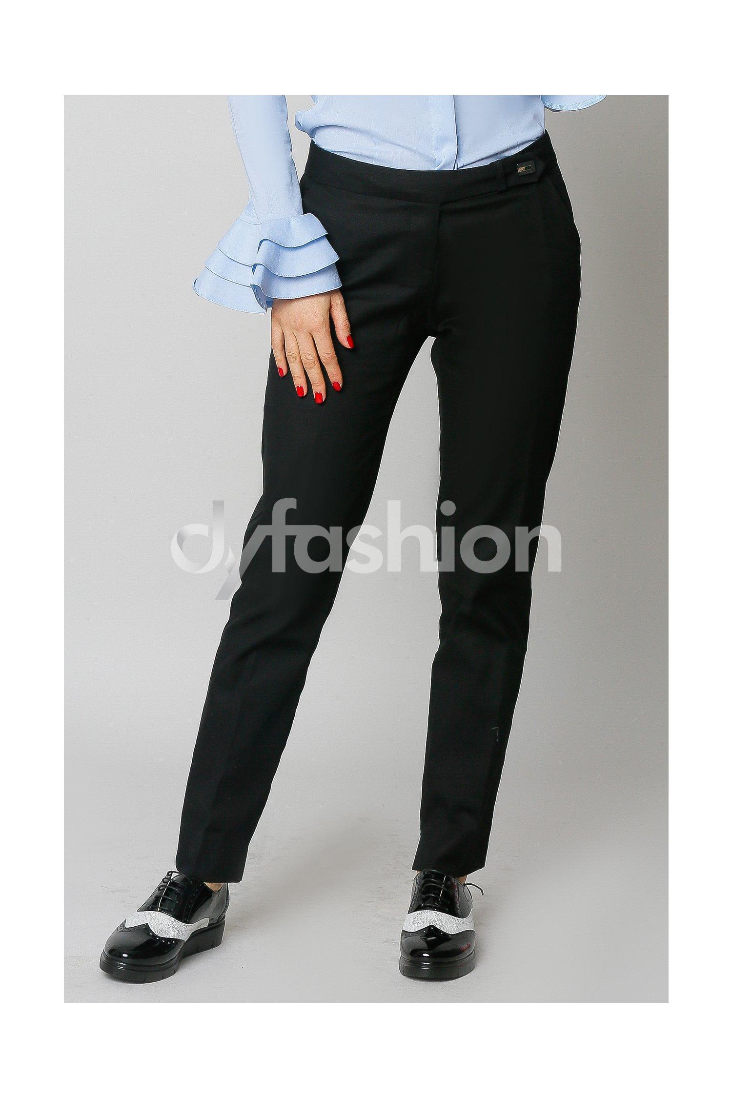 Pantalon Fernanda Negru Office Elegant, colectia 2018