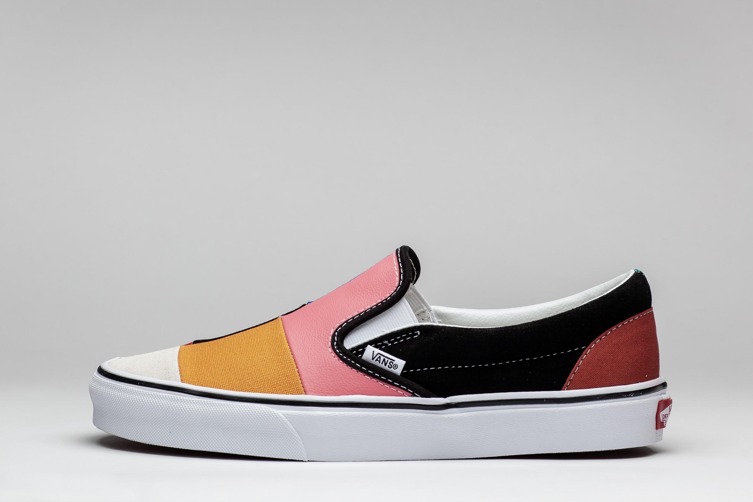 Sneakers Barbati SK8-Hi Patchwork