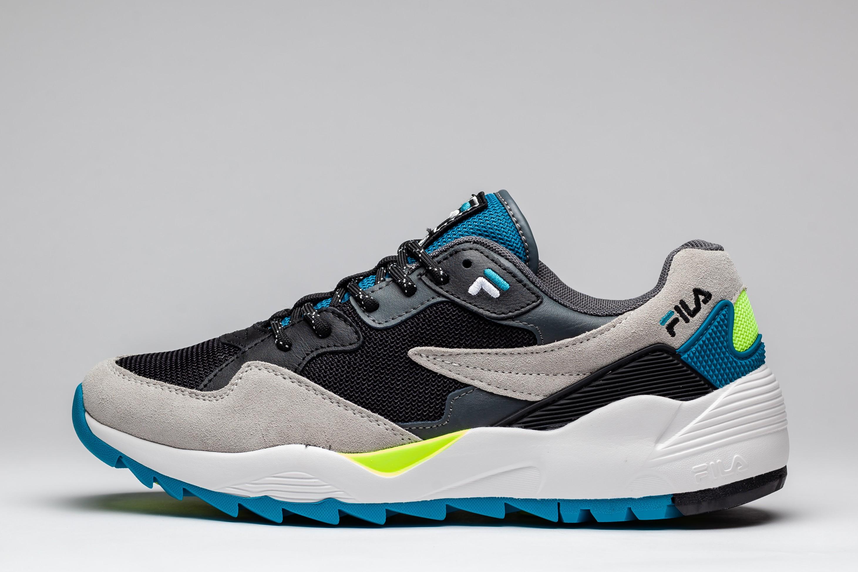 Sneakers Barbati Slip-On Patchwork