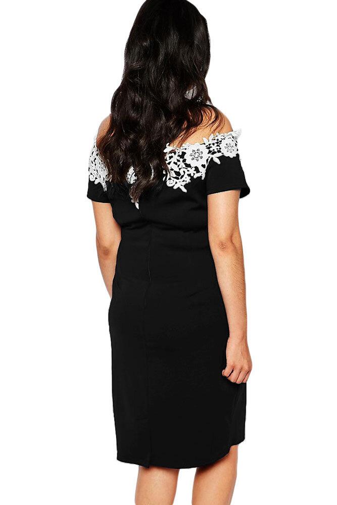 Rochie Elegantä' Camisa Negru