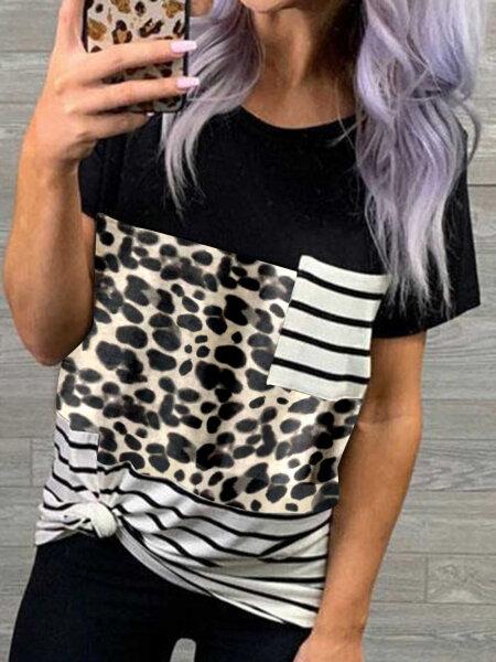 Tricou Qamara Leopard