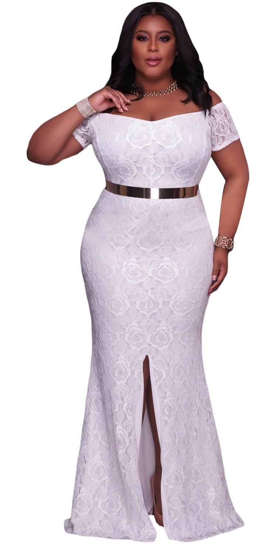 Rochie Eleganta Plus Size Kenly Alba