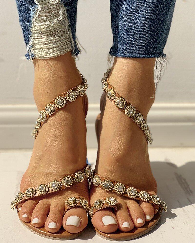 Sandale Kaakali Argintii