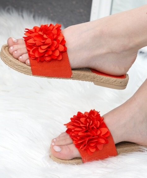 Sandale Rubie Rosii