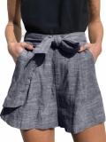 Pantaloni Scurti Cu Buzunare Tamasi Albastri