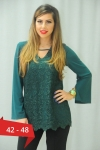 Bluza dantela verde smarald Karina