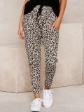 Pantaloni Skinny Casual Ramita Leopard