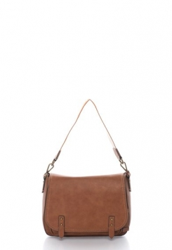 Geanta crossbody maro coniac