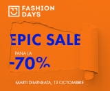 Reduceri Epic SALE pana la 70% pe Fashion Days