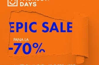 Reduceri Epic SALE pana la 70% pe Fashion Days