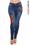 Jeans XXL Embroided