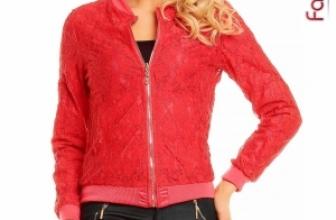 Jacheta din Dantela cu Doua Fete Zoe Rosie