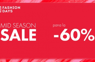 Reduceri pana la 60% MID Season Sale pe Fashion Days