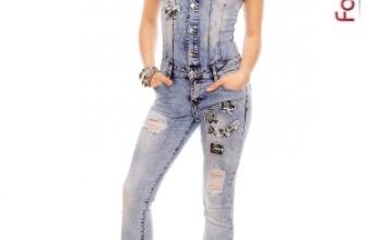 Salopeta din Jeans Premiere 06