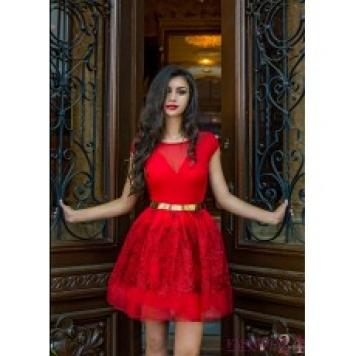 Rochie Eleganta Red Diva