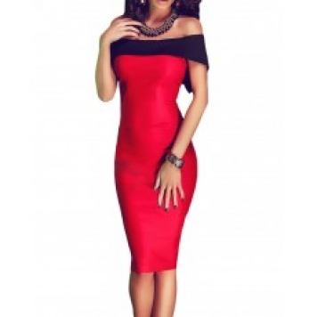 Rochie Eleganta Red Precious