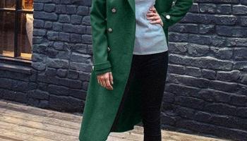 Palton Roxanne Verde